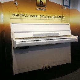 Yamaha Silent Klavier B1SG2PWH von 2018 in Weiß glänzend