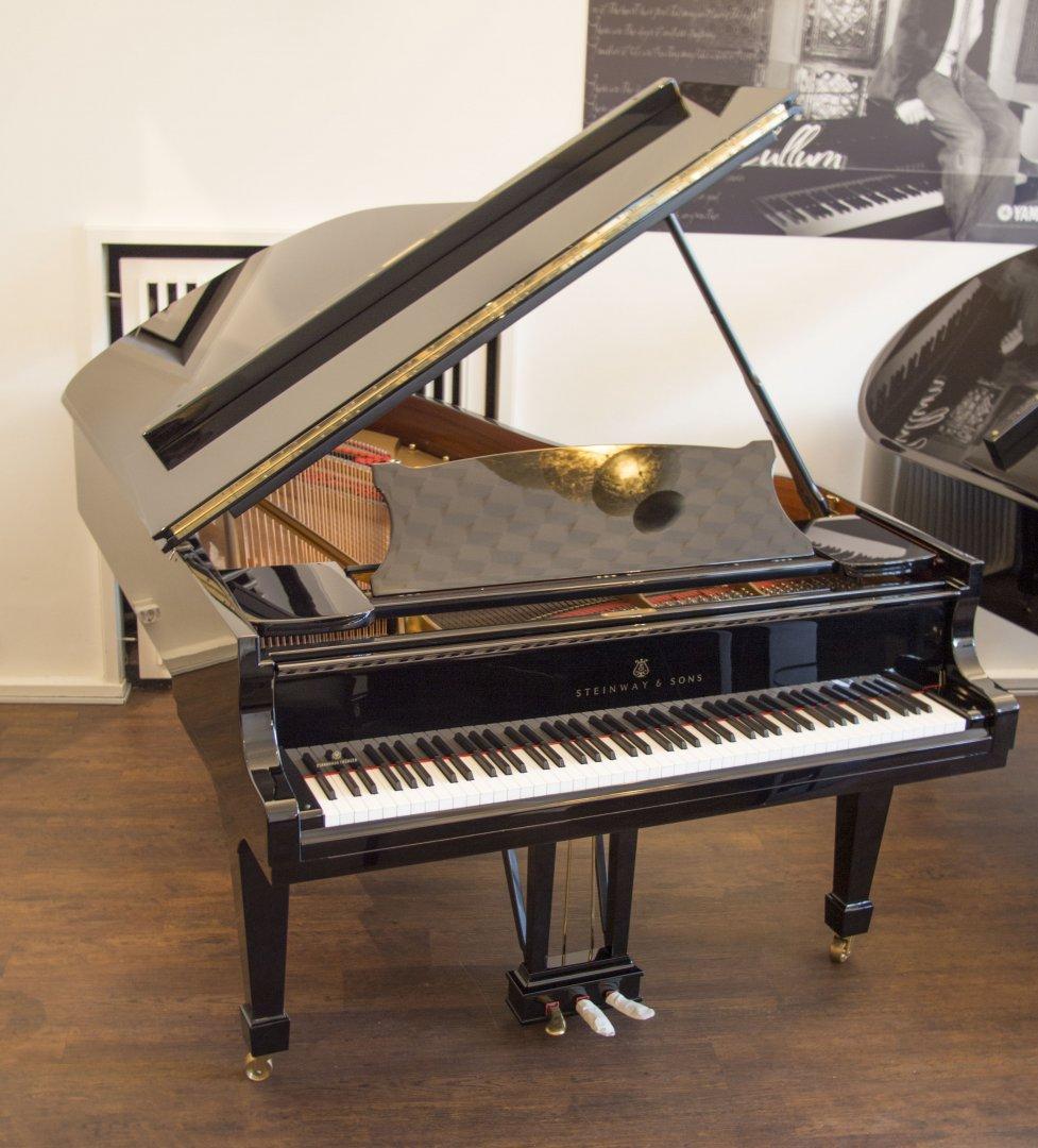 steinway sons fl gel b 211 schwarz poliert gebraucht von pianohaus truebger hamburg. Black Bedroom Furniture Sets. Home Design Ideas