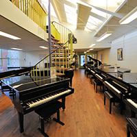 H.P. Steenhuis Piano's en Vleugels Logo
